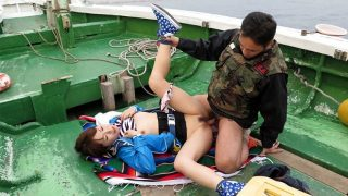 JapanHDV – Nonoka Kaede is fucked on a boat after fishing contest